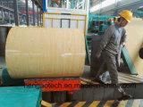 1250-120 ligne modèle de machine de procédé d'enduit de couleur de bobine