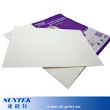 Papier d'imprimerie de transfert d'étiquette de glissière d'eau de jet d'encre fait en blanc