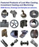Преграждать-Подгонянная Backstitch аттестованная отливка облечения точности разделяет ISO 9001 отливки нержавеющей стали