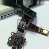 iPhone5Sのための100%のオリジナルMobile Phone Spare Parts Facing Camera