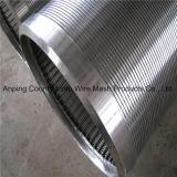 tubo cilíndrico de la pantalla del acero inoxidable 316L/profundamente de agua de Wel/filtro de agua