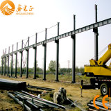 Мастерская стальной структуры с надземным краном (SSW-384)