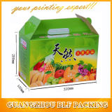 Boîte ondulée à fruits frais empaquetant en gros