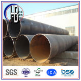Acero de carbón del API 5L/tubo de acero de alta resistencia de SSAW en petróleo y gas