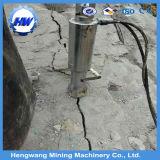 Diviseur hydraulique de roche avec le block d'alimentation électrique