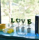 De kleurrijke Decoratieve Vaas van het Glas van de Ambacht voor Gift
