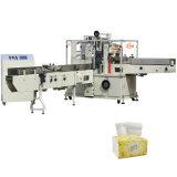 El tejido pañuelo de papel máquina de embalaje