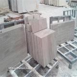 Marmo di legno bianco delle mattonelle Polished di prezzi di fabbrica