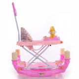 Chine Hot Sale Folding Rocking Baby Walker Go Round avec Pushbar