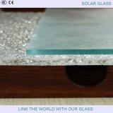 vidrio claro adicional de 4m m para el colector solar