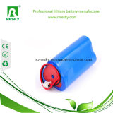 Paquete recargable de la batería del triángulo 12V 11.1V 2000mAh para la lámpara del césped, solar