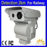 6kmの森林火災アラーム機密保護PTZの赤外線画像のカメラ