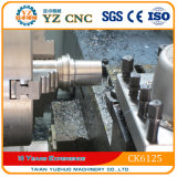 Mini torno pequeno do CNC Ck6125