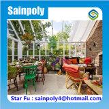 Sainpoly 상표 최신 판매 유리제 정원 온실