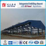 Fáciles prefabricados instalan el edificio de la estructura de acero