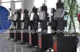 marcador do laser da fibra de 20W 30W 50W Ipg para a tubulação, encaixes, metalóide do plástico de PVC/HDP/PE/CPVC/UPVC