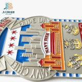 Decklack-buntes Militärtellersegment des Zoll-5*7.6cm Metallplatten für förderndes Geschenk