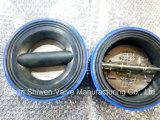 Roheisen-volles Gummizwischenlage-Oblate-Basisrecheneinheits-Rückschlagventil