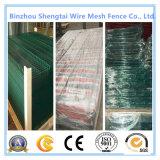 Широко загородка ячеистой сети PVC применения сваренная покрытием с аттестацией TUV
