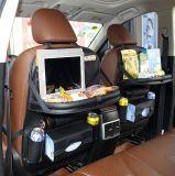 iPad를 위한 홀더를 가진 뒤자리 차 조직자