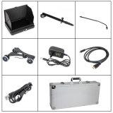 1080P Uvss et Uvis sous système de surveillance de surveillance d'inspection de véhicule avec deux caméras HD et DVR de 7 pouces