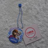 Umweltfreundlicher PapierHangtag mit den Zeichenketten verwendet auf Kleid/Kleidung/Beuteln des Kindes