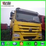 Caminhão de descarga do Tipper da movimentação da mão esquerda 251-450HP do euro II de HOWO 6X4