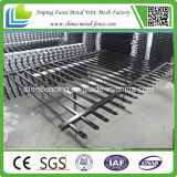 Порошок Coated Tubular Spear Top Steel Fence для Security