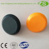 Pavimento em tijolo blindado de segurança em taco tactil plástico para venda