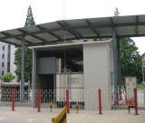 Le dérapage à haute pression de station de fille du compresseur CNG a monté 2800*2000*3040mm