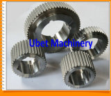 Steel modificado para requisitos particulares Spur Gear con Zinc Coating