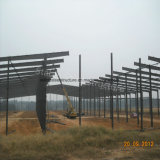 Подгонянное полуфабрикат здание стальной структуры для мастерской