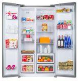 refrigerador side-by-side básico de plata de 482lit Amrican