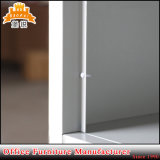 Armadi dell'acciaio del banco della mobilia dei vestiti del metallo del contenitore di serratura dei vestiti del portello di disegno moderno 3