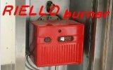 Hornos rotatorios de 1 de la carretilla estante del viento de Riello del gas caliente de la hornilla con CE y la ISO