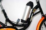 Stadt-elektrisches Fahrrad der gute Qualitäts250with350w 20inch 36V für Frauen mit hinterem Sitz (YK-EB-015)