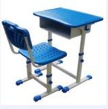 Mesas e cadeiras da mobília para o único estudante