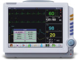 Med-Pm-9000c ECG 12 Zoll-bewegliche Überwachungsgerät-medizinische Ausrüstung