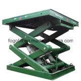 Equipamento de levantamento da tabela do elevador da manipulação material para o armazém Using