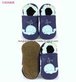 작은 아이의 귀여운 진짜 가죽 아기 신발