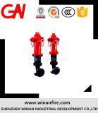 Bouche d'incendie de qualité pour le système de suppression des incendies