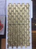 Ardósia / Cerâmica / Porcelana / Vidro Tumbled Marble Mosaic Tiles Backsplash Idéias para Venda