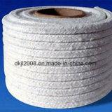 Corda a temperatura elevata della fibra di ceramica dell'isolamento termico per il sigillamento
