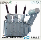 transformateurs d'alimentation de Double-Enroulement de 31.5mva 66kv avec le commutateur de taraud de hors fonction-Circuit