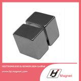 Potência super ímã permanente personalizado do Neodymium de NdFeB do bloco da necessidade N35-N38