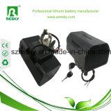 36V 10.4ah Lithium-Batterie-Satz für elektrisches Fahrrad 350W