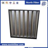 V filtro dal contenitore di condizionatore d'aria dello zinco della Banca