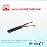 PVC изолировал &Sheathed электрический медный провода гибкий плоский/электрический кабель