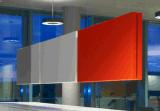 Uispairのオフィスのホテルのホーム装飾のための吸音力の絶縁材の現代ハングのウールの音響パネル
