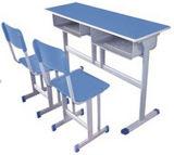 Mesa da mobília de escola e cadeira do material de madeira ou plástico
